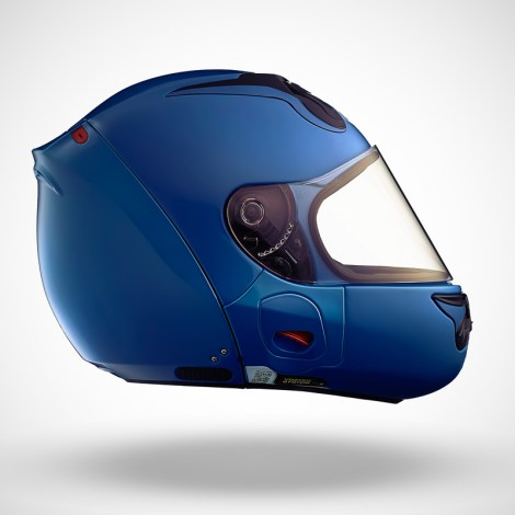 Gallery Foto Helm VOZZ_Blue_side