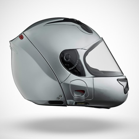 Gallery Foto Helm VOZZ_Silver_side
