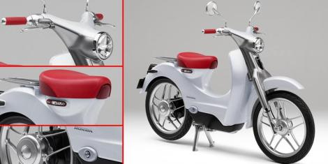 Honda EV-CUB Electric Bike 1 Pertamax7.com