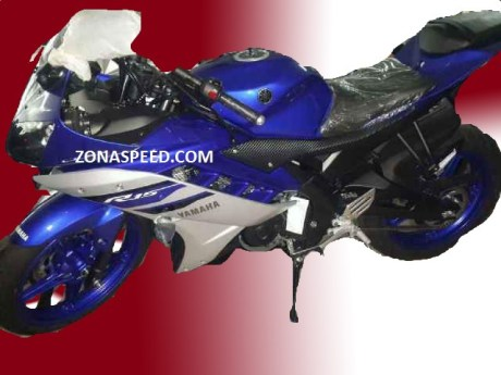 Yamaha R15 striping 2016 terbaru reving blue biru