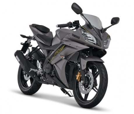 Yamaha YZF-R15 Speed Grey Pertamax7.com