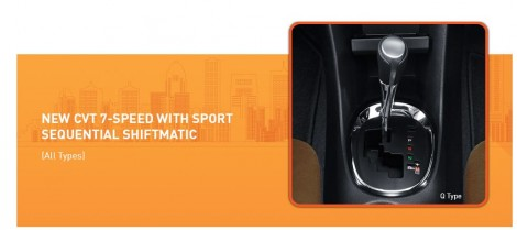 CVT 7 Speed Toyota Sienta with sport sequentian shiftmatic