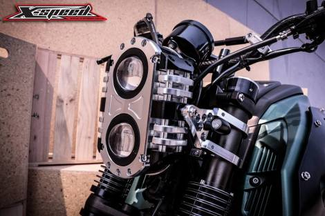 Modifikasi Yamaha Xabre Scrambler Concept Buntung Ala Minor Fighter 4 Pertamax7.com