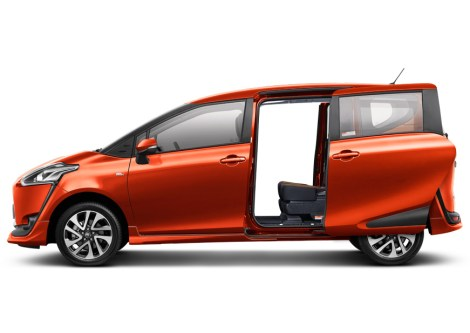 Toyota Sienta New Sliding Door with Easy Closer & Power Sliding Door