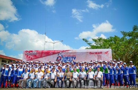 Foto the 9 Astra Honda Safety Riding Competition 2015 pertamax7.com