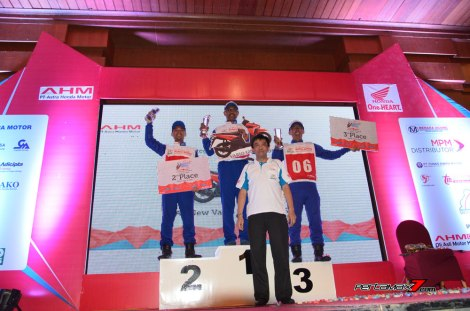 Juara Kategori Instruktur Sport Astra Honda Safety Riding Instructors Competition 2016 pertamax7.com