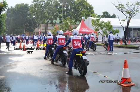 Modifikasi All New Honda CB150R Streetfire di Astra Honda Safety Riding Competition 2016 1 pertamax7.com