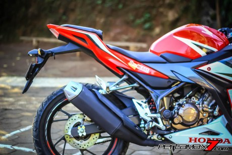 All New Honda CBR150R 2016 Warna Merah Racing Red 46 Pertamax7.com
