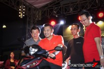 launching all new honda supra GTR 150 di Kota Makassar