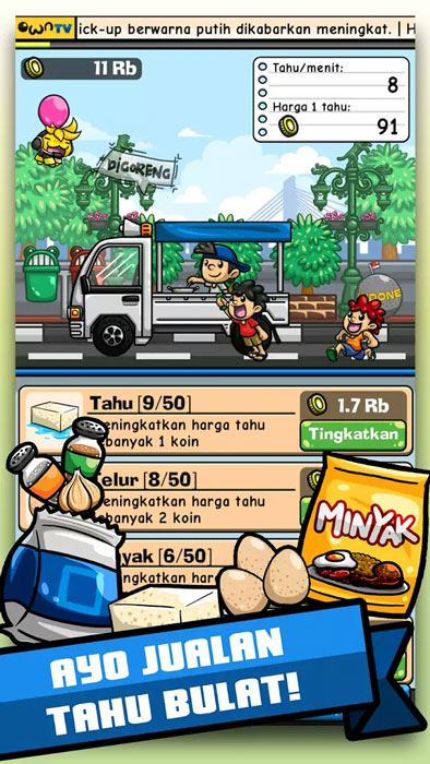SS Game Tahu Bulat own games Pertamax7.com 3