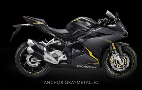 All New Honda CBR250RR Anchhor GrayMetallic Pertamax7.com