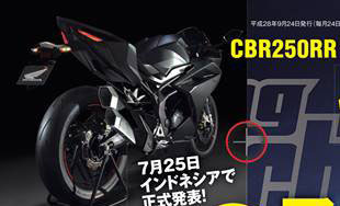 Render All New Honda CBR250RR 2016 mass prod by Youngmachine pertamax7.com