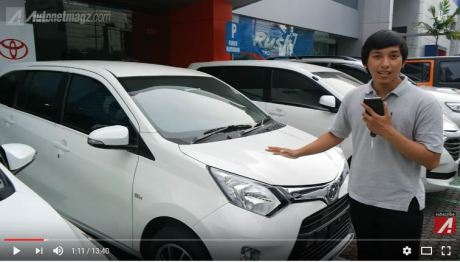 First Impression Toyota Calya Sebelum Launhcing By Autonetmagz pertamax7.com