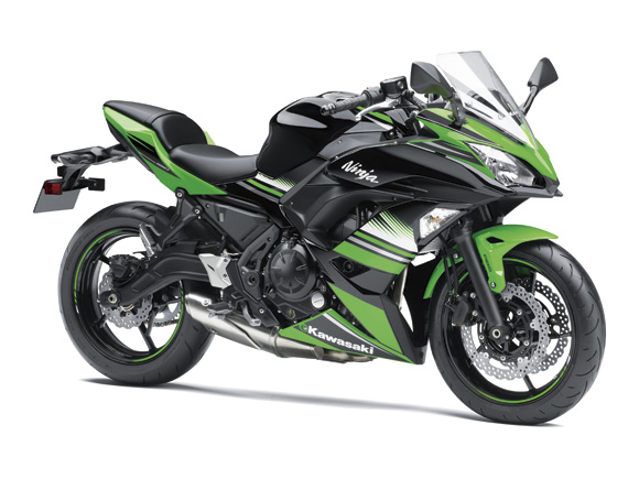 Bengisnya All New Kawasaki Ninja 650 versi 2017,