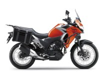 Kawasaki Versys-X 250 TOURER Candy Burnt Orange Metallic Graphite Gray