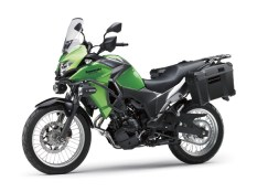 Kawasaki Versys X 250 Tourer Candy Lime Green / Metallic Graphite Gray