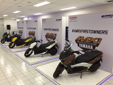 Display Yamaha XMAX 250 Indonesia