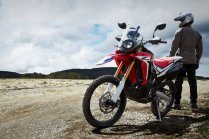Honda CRF250 Rally Test