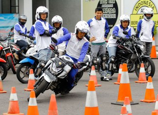 Komunitas Motor Sport Honda Astra Motor Safety Riding Center Yogyakarta 1