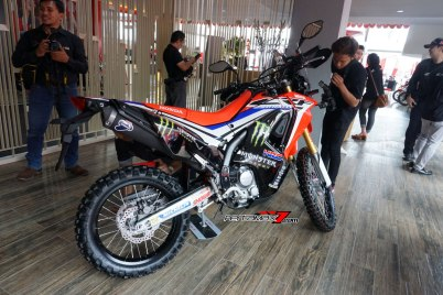 Launching Honda CRF250Rally Big Wing Medan