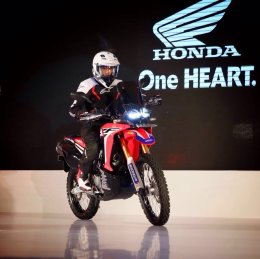 launching Honda CRF250 Rally Indonesia