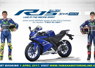 Indent Online Yamaha All New R15 VVA