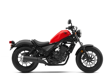 Honda Rebel 300 merah