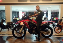 Naik Honda CRF250Rally