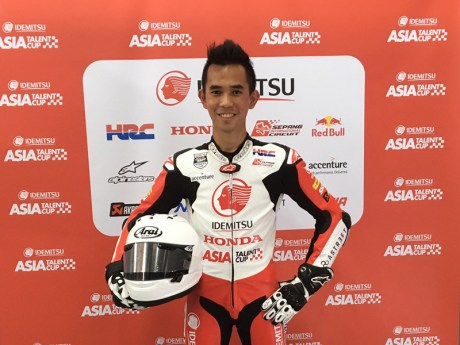 Pebalap Gerry-Salim Asia Talent Cup 2017 Indonesia