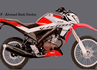 Render Yamaha All New Vixion 155 VVA Trail