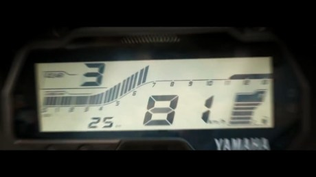 Tampilan speedometer Yamaha All New R15