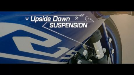 Upside down suspension Yamaha All New R15 7
