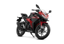 All New Honda CBR150R Warna Hitam Merah Victory Black Red