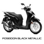 Honda SH150i Warna Hitam Poseidon Black Metalic Indonesia