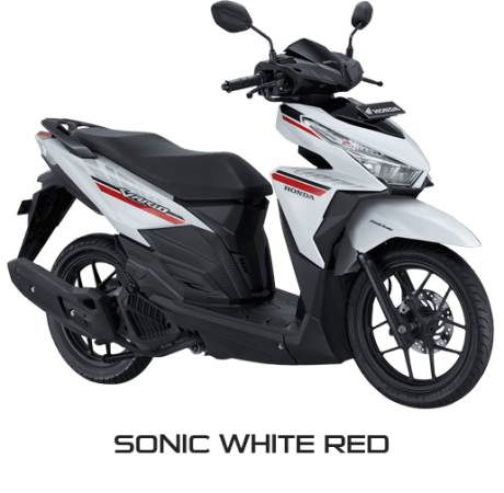 New Honda Vario 125 eSP Warna Putih Sonic White Red Versi 2017