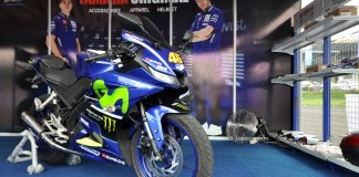 Yamaha All New Yamaha R15 Livery Movistar