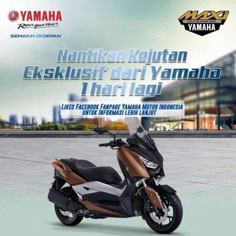 Indent Online Yamaha XMAX 250 Indonesia