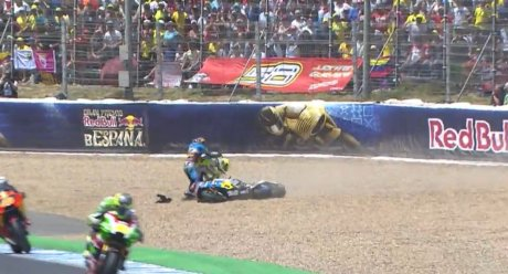 Miller Crash MotoGP jerez 2017