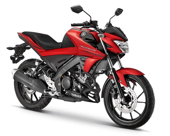 Warna Yamaha All new Vixion R Merah A matte red black