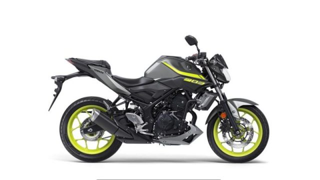 2018 Yamaha MT-03 Warna Night Fluo kanan