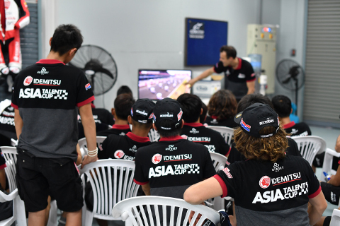 Briefing Asia Talent CUP Idemitsu