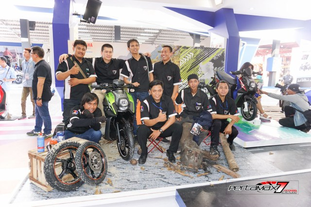 Komunitas Yamaha X-ride dalam Launchinhg All new X-Ride 125 MY 2017