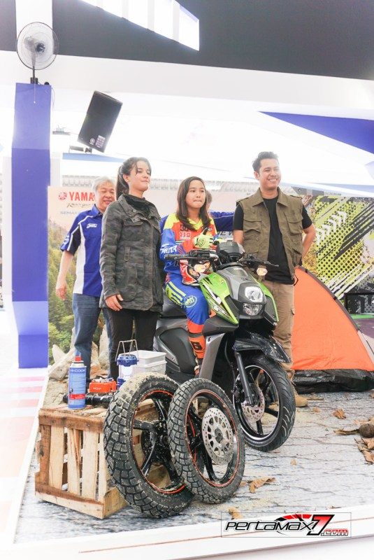 Launching Yamaha All New X-Ride 125 Jakarta Fair 2017 4