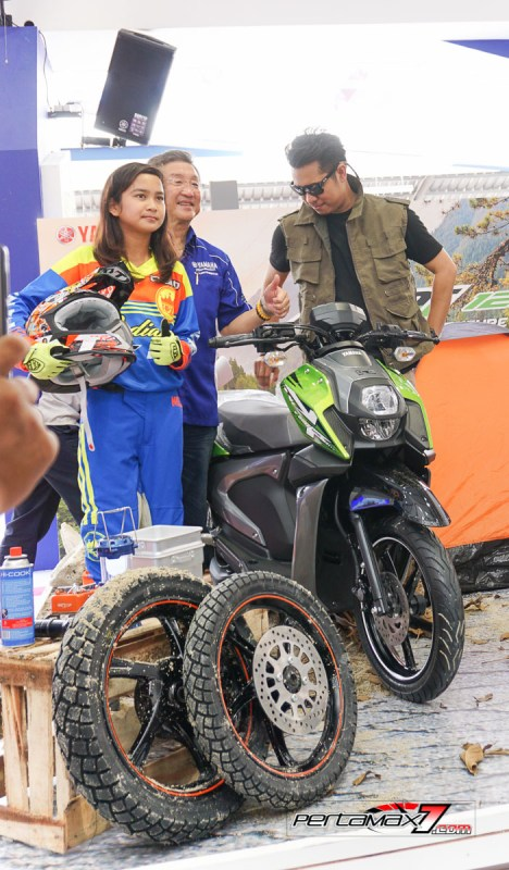 Launching Yamaha All New X-Ride 125 Jakarta Fair 2017 8