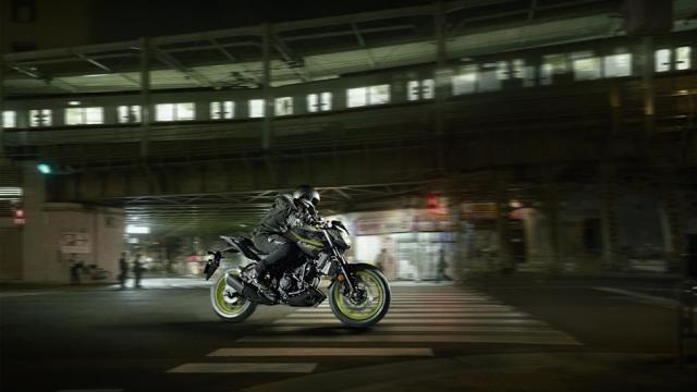 Testride Yamaha MT-03 Warna Hijau Stabilo Night Fluo MY 2018 UK 1