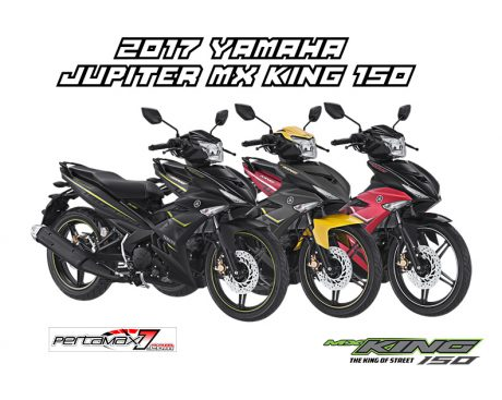 Warna Baru Yamaha Jupiter MX KING 150 Facelift 2017