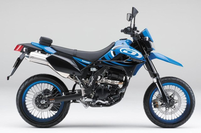 Kawasaki D-Tracker X Final Edition 2016 Japan Biru