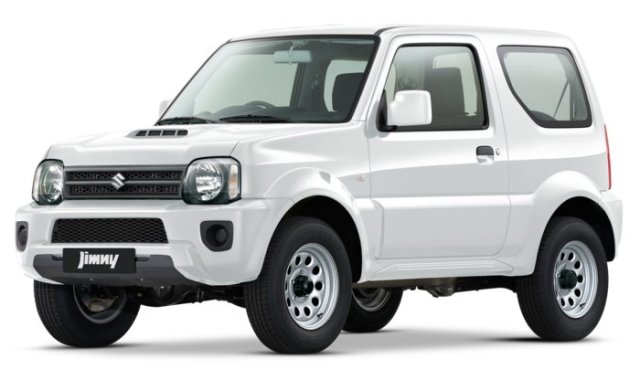 Depan Suzuki Jimny JX 4X4 AT Indonesia