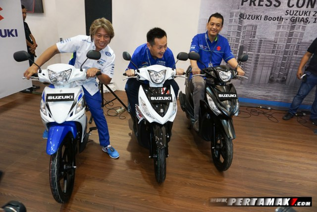 Launching Suzuki Smash FI Dan Address di GIIAS 2017