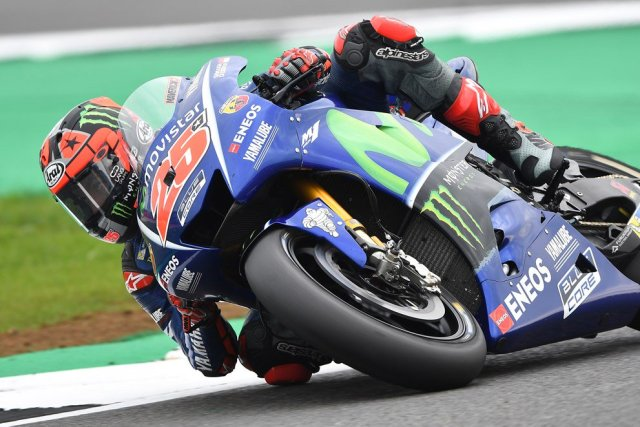 Maverick Vinales MotoGP UK 2017
